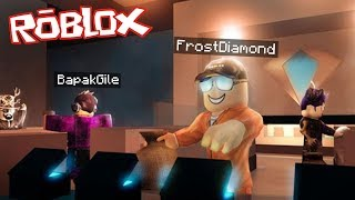 FIRST TIME FROST DIAMOND NYOBAIN MAIN ROBLOX with FATHER GILE WKWKW!