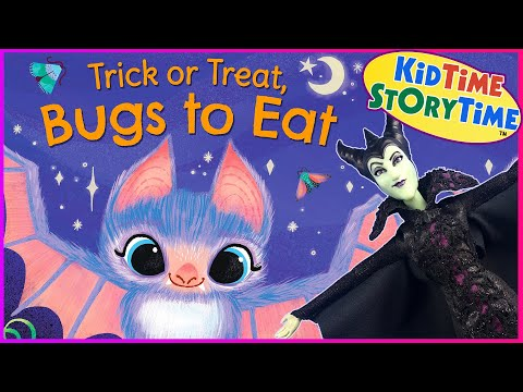 Trick or Treat, Bugs to Eat 🦇 Halloween Read Aloud