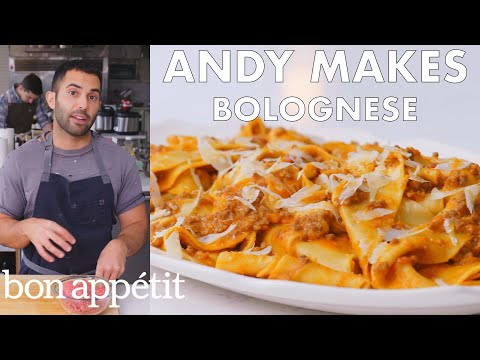 andy-makes-pasta-with-bolognese-sauce-|-from-the-test-kitchen-|-bon-appétit