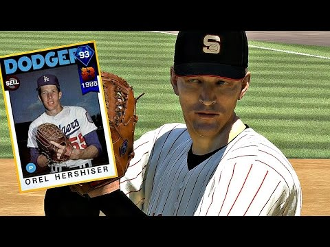 DIAMOND OREL HERSHISER TAKES THE MOUND!! MLB The Show 17 Diamond Dynasty
