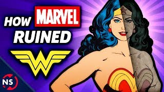 How MARVEL Ruined WONDER WOMAN! - Weird Comic Book History Explained || NerdSync