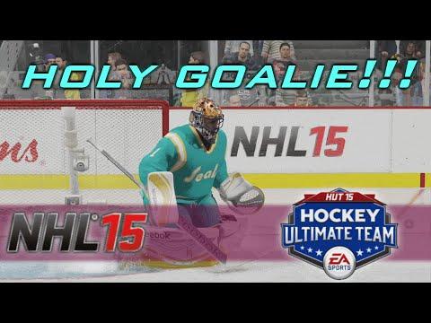 NHL 15 HUT GOALIE GLITCH – HOLY GOALIE!