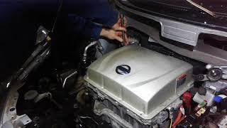 Nissan Leaf: ремонт, ошибка P0AA6 (низкое сопротивление силовых проводов)