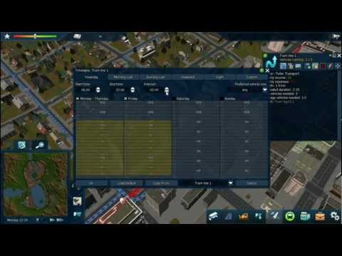 Cities in Motion 2 - Timetables tutorial |