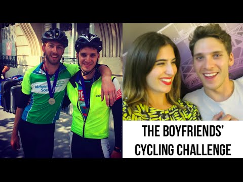 The Boyfriends' Cycling Challenge  // Lily Pebbles