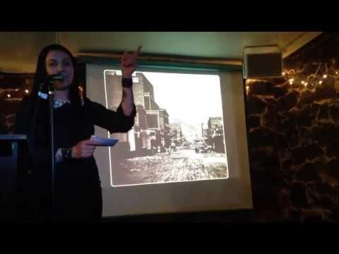 Lizzy Lee Savage speaks at the Odd Salon: Gold Country Edition