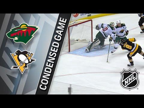 01/25/18 Condensed Game: Wild @ Penguins