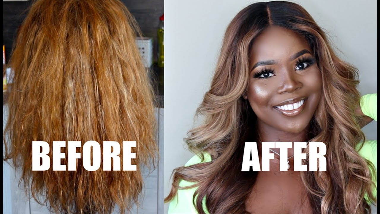 How To Tone Your Brassy Orange Hair At Home Youtube