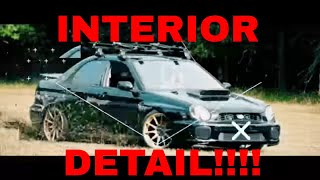 Detailing/Cleaning A Nasty Interior! Dog Hair, Stains, Mud, Dirt!!