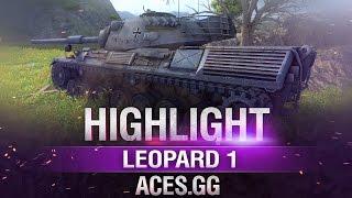 Спокойствие только спокойствие.Leopard 1 в World of Tanks!