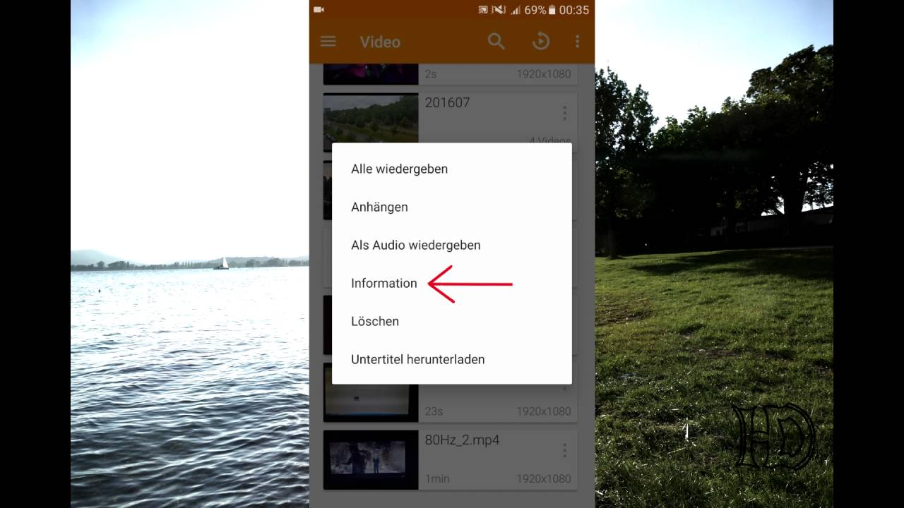 How to see fps of a video on Android - YouTube