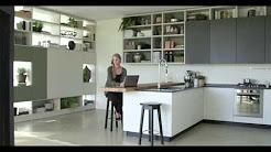 Vittore Niolu presenta il progetto Motus per cucina e living