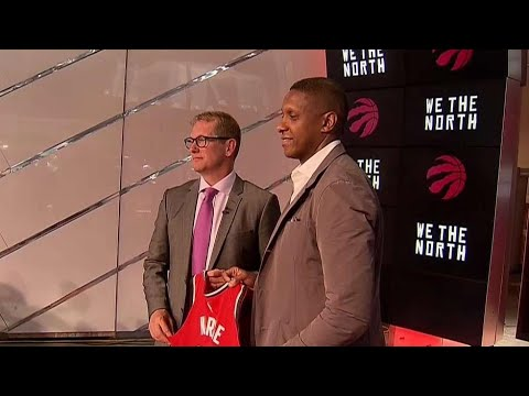 Raptors introduce Nick Nurse as new head coach