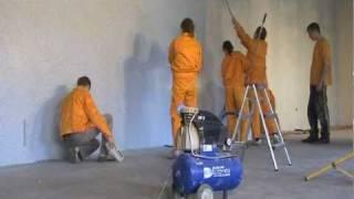 Флок (чипсы) - декоративное покрытие(Флок. Процесс флокирования. Рекламный фильм. Декоративная отделка стен по технологии флокирования (чипсы)...., 2011-03-25T18:23:47.000Z)