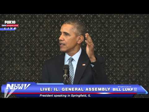 FNN: President Obama Illinois General Assembly