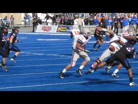 Nick Sherry sacked by Jamar Taylor Boise State vs UNLV 10 20 2012 016