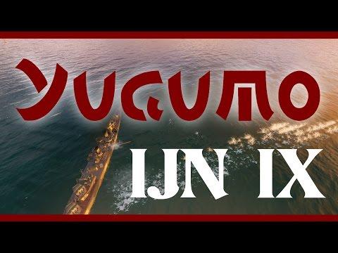 Yugumo FAIL - first look - NEW tier 9 IJN DD - World of Warships
