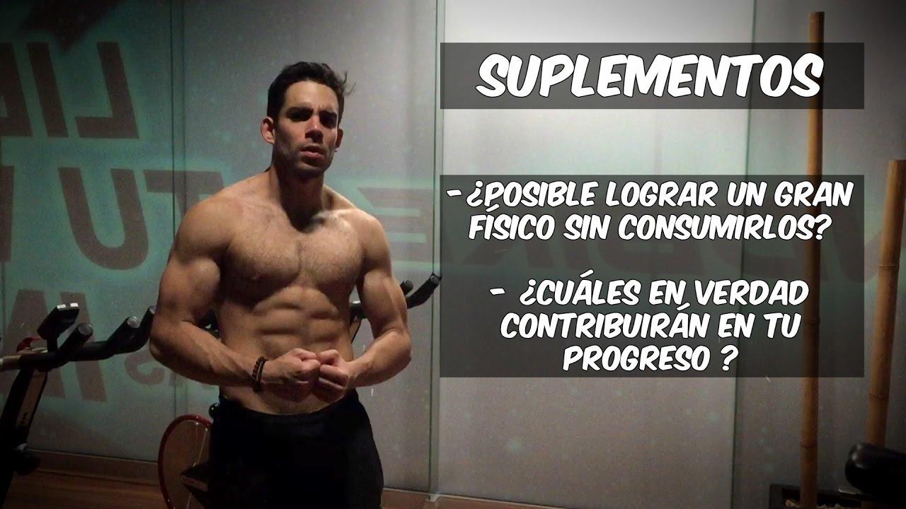 suplementos para tonificar musculos hombre