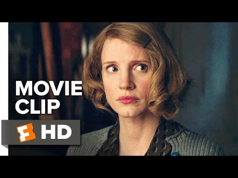 The Zookeeper's Wife Movie CLIP - Jan's Plan (2017) - Jessica Chastain Movie