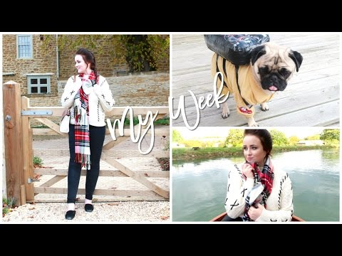 My Week: Soho Farmhouse, Falling In The River & Rupert's Halloween Outfit | Becca Rose Vlogs