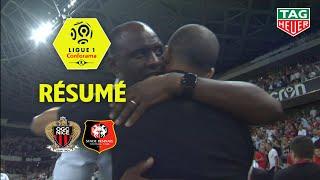 OGC Nice - Stade Rennais FC ( 2-1 ) - Résumé - (OGCN - SRFC) / 2018-19