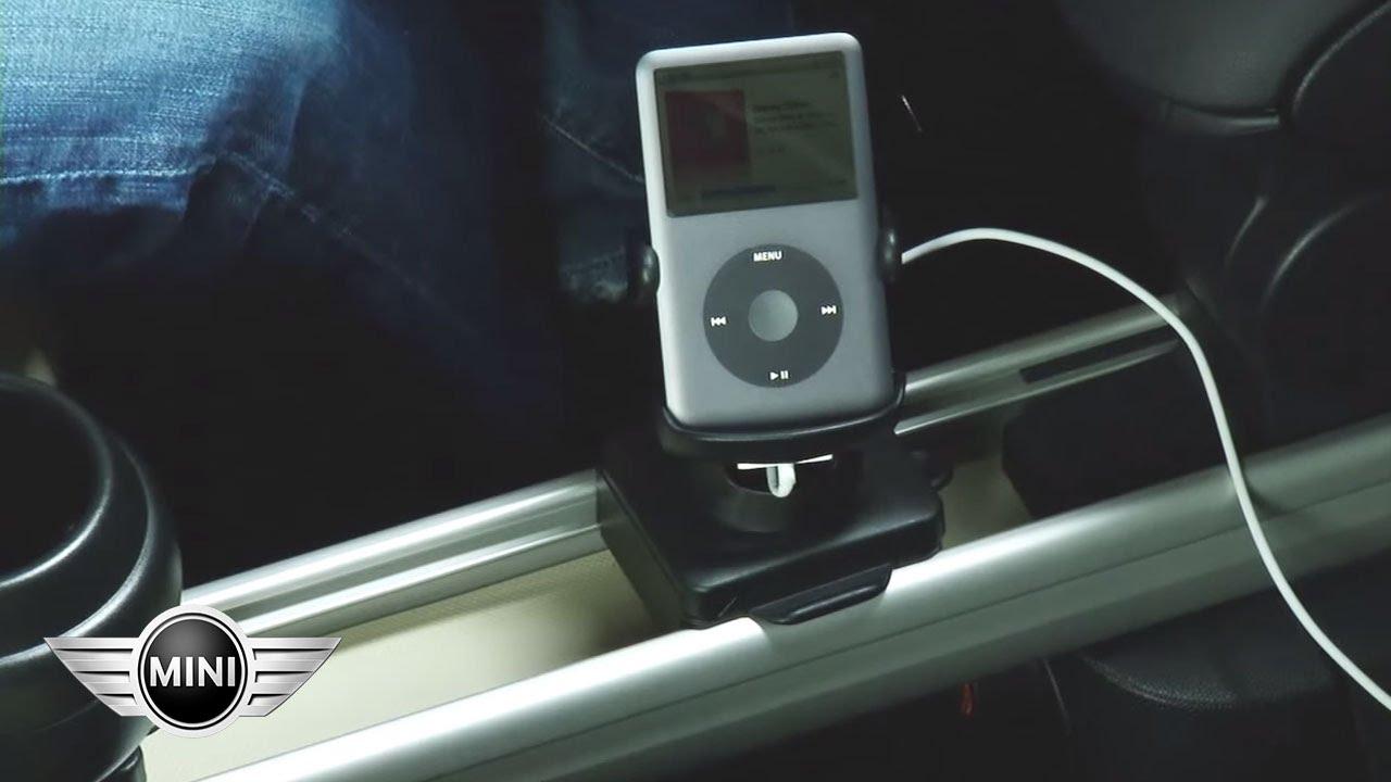 mini usa mini paceman mini countryman center rail device holder youtube
