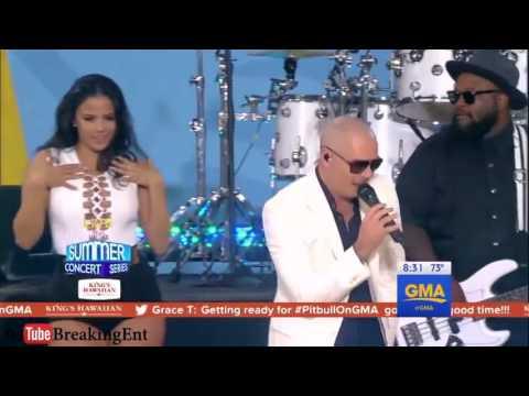 Pitbull - Messin' Around LIVE In GMA