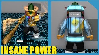 BUYING THE BIG STICK AND INFINITE STORAGE IN ROBLOX WEAPON SIMULATOR *Overpowered!*