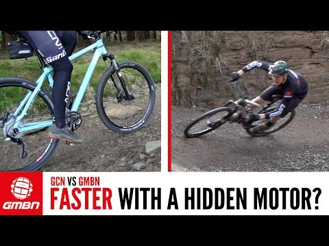 Could Motorised Doping Happen In Mountain Biking? GMBN Vs GCN