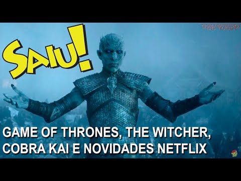 GAME OF THRONES, THE WITCHER, COBRA KAI, THE SINNER E NOVIDADES NETFLIX | NERD SAIU thumbnail