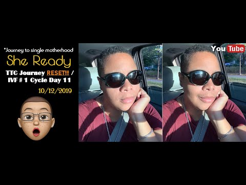 (SBW 41 & Fertility) TTC Journey RESET?!?/ IVF #1 (Hysterosalpingogram HSG) | Cycle Day 11