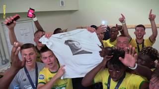 U17. La joie des Champions de France 2018-2019