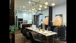Căn hộ mẫu 2 phòng ngủ dự án chung cư Hoàng Huy Grand Tower