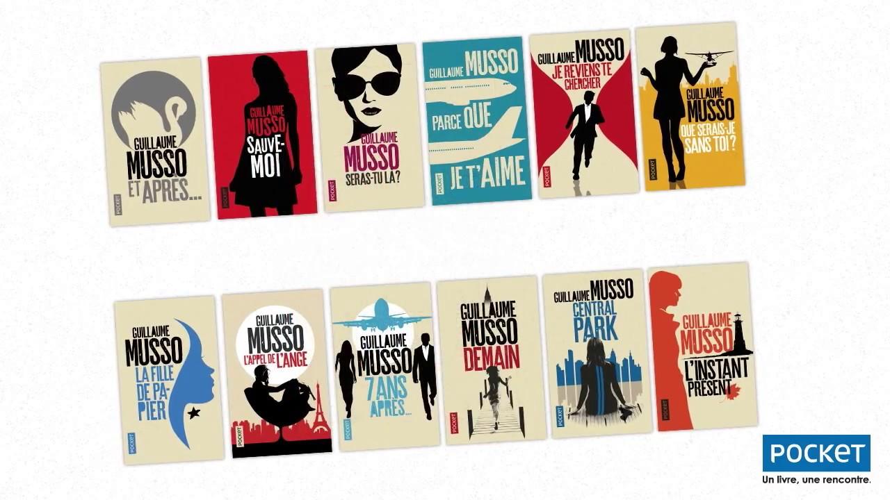 Les Nouvelles Couvertures De Guillaume Musso Editions Pocket