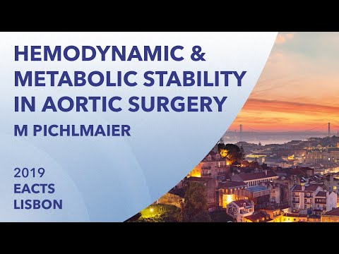 Enhanced hemodynamic and metabolic stability in aortic surgery | EACTS | 2019 | Lisbon |