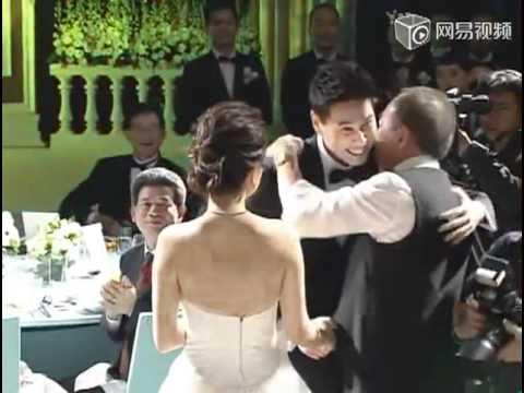 ELLA 大婚现场实况 婚礼伴郎伴娘新人进场 + �婚.