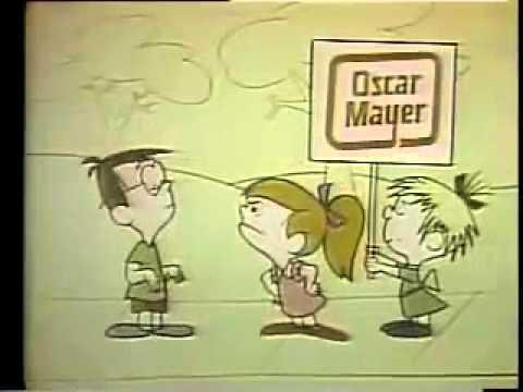 I Wish I Were An Oscar Mayer Weiner - Great Vintage Advertisement