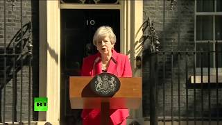 Live from outside No 10 as Theresa May faces calls to resign.