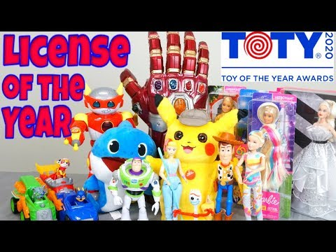 Toy of the Year Awards 2020 TOTY Best Licensed Toys with Baby Shark JoJo Ryan's World Toy Story
