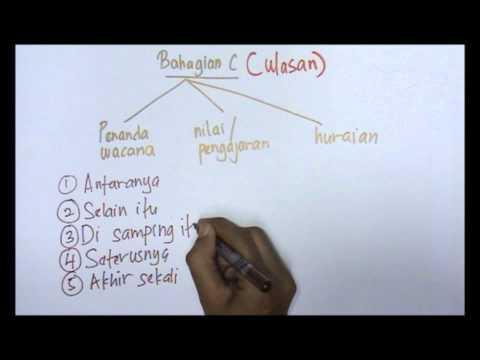 Teknik Menjawab Bhg C BM UPSR 2014