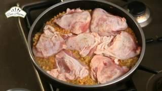 Курица с чечевицей в духовке [Рецепты по-домашнему]