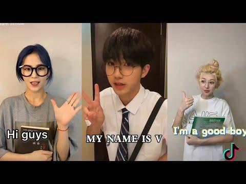 BTS V I'm good boy tiktok transformation