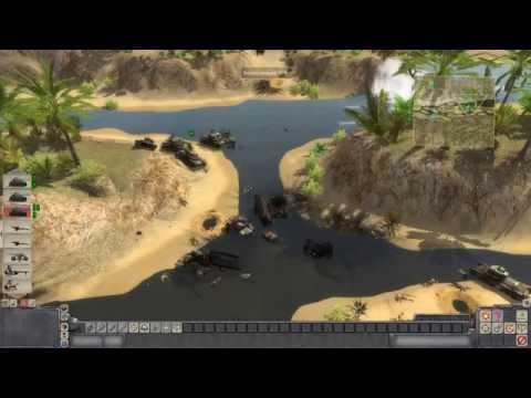 Men Of War - On The Way To Tunis - Walkthrough Gameplay PC