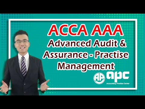 ACCA P7 Online Course Advanced Audit & Assurance- Practise M