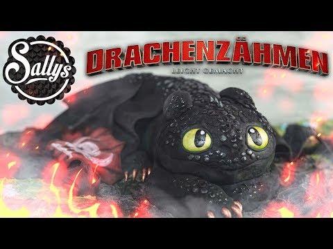 Drachenzähmen leicht gemacht 3 / Ohnezahn Toothless Motivtorte/ Torte / Sallys Welt