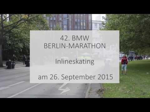 42. BMW BERLIN-MARATHON Inlineskating 26.09.2015 KM 35,5