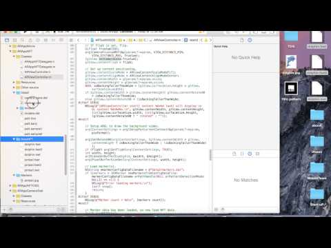 [Tutorial] Marker Training and Attaching into iOS Project using ARToolkit