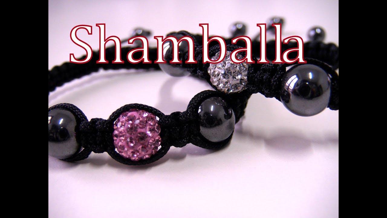 4877a403ba38 Abalorios DIY - Como hacer la Pulsera Shamballa