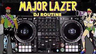 Major Lazer DJ Routine