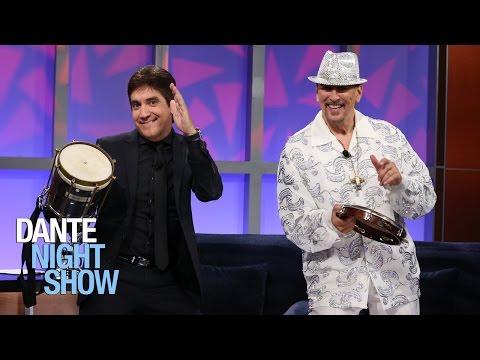 Chalo Eduardo: percusionista de Carlos Santana, Gloria Estefan y Ricky Martin en Dante Night Show